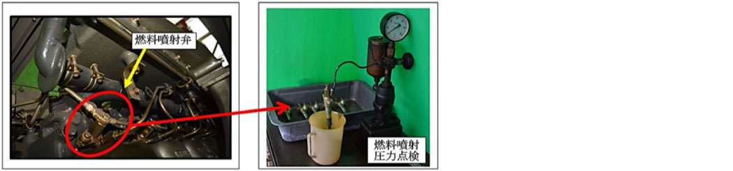 2.燃料噴射弁等の動作確認